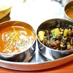 南インド料理 マハラニ - Mutton Curry・Poriyal