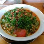 中華そば de 小松 - 日曜味の担々麺