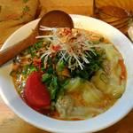 中華そば de 小松 - 担々麺