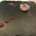 リストランテ ベツジン - 桜鯛の瞬間スモーク  香りがいいですね