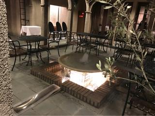 リストランテ ベツジン - 中庭もとってもステキです