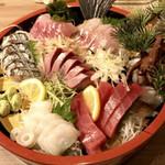 おさかなや 和樽 - 刺身盛り合せ