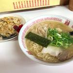 あじ扇 - 料理写真:「やきめしセット」(840円)。ランチタイム意外は50円アップ。