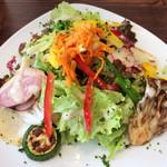 ラ コッペ - サラダランチのサラダ