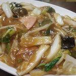 中国料理 御舟 - 料理写真:什綿炒麺(あんかけ焼きそば)