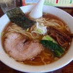 ラハメン ヤマン - 料理写真:らはめん・大盛(700円)