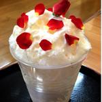 濱蛸 - 薔薇ヨーグルトかき氷