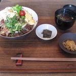 肉洋食オオタケ - 焼肉丼(2017.04)