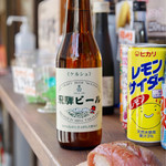 湯島庵 - 飛騨ビール 680円