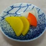 千楽 本店 - 料理写真:漬物