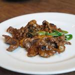 開化亭 - お肉と野菜の炒め物