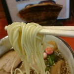 ラーメン考房 昭和呈 - 新飛魚正麺、塩