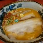 ラーメン考房 昭和呈 - 究極海老花麺、醤油