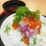 66328128 - 大盛り海鮮丼