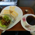 Cafeかりん - 料理写真:ブレンドコーヒーとモーニングサービス