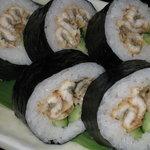 六本木 福鮨 - お土産人気NO.1。特製穴子太巻。塩・わさび、もしくは特製ツメの2つのお味からお選びください。