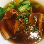 66330201 - 豚の角煮麺