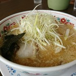 五百川食堂 - こってり味噌ねぎらーめん。
