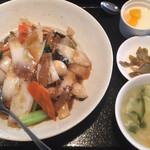 龍泉飯店 - 中華丼 ¥750