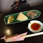 竹仙郷 - 前菜
