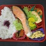フジクック - 料理写真:鮭弁当