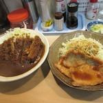 ふくよし - 生姜焼き&カツカレー