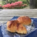 グランディール - クロワッサンフランセともっちり餡パン