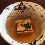 66334535 - 先付け:玉子と胡麻のお豆腐