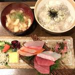 いざかや 漁火 - 漁火定食(ランチ/限定10食) ¥900