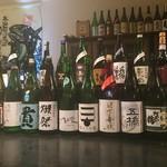 海鮮長州 - 山口の地酒約20種類(獺祭東洋美人貴,雁木,,,)