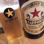 直会スタンド 宮 - 赤星490円