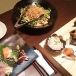かこみ庵 - サラダ 刺盛り
