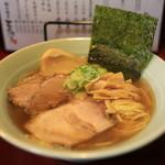 初代麺屋とのさき - 料理写真:限定サワラ煮干そば@700円