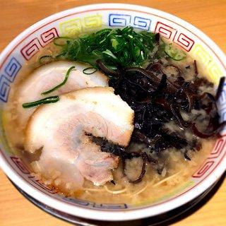 二代目 博多 だるま - 料理写真:博多ラーメン¥750 2017.3.5