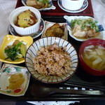 食べ処いちりん庵 - 料理写真:全景