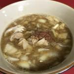 蓮爾 - 【2017.4.22】たまつけ麺のつけ汁。