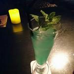 ビューアンドダイニングザスカイ - 青リンゴのカクテル
