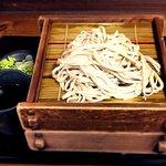蕎麦 冷麦 嵯峨谷 - 二枚もり¥520 2017.3.8