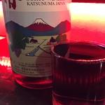 住吉町立ち呑みばる平八郎 - 名物すりきれワイン