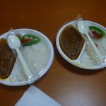 パルフェ - チキンとトマトのカレーライス(並)