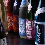たかの家 - 茗荷谷地No.1の日本酒の品揃え