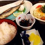 ほうせい丸 - 魚定食