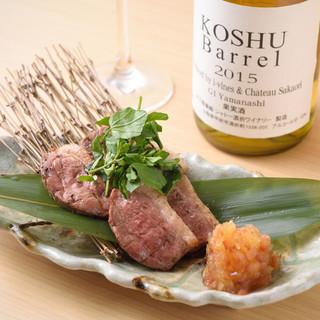 和食と日本酒&日本ワインの【ペアリング】