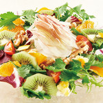 季節の果実の酵素サラダ