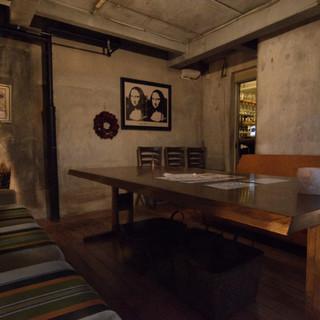 2パターンのソファ完全個室をご用意しております!