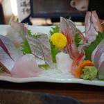 軍ちゃん - 料理写真:刺し盛り( 1人前 )~☆