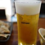 軍ちゃん - 生ビール~☆