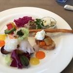 皿の上の自然il Gastro Sara -