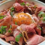 66352982 - ローストビーフ丼