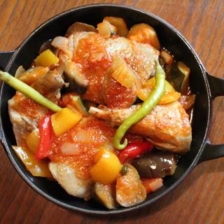 ♦ダミ自慢のストウブ社ココット料理。温菜~メインまで♦